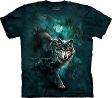 Night Wolves Wolf T Shirt Adult Unisex The Mountain