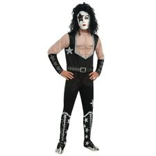 Starchild KISS Band Paul Stanley Rock Star Adult Costume size lg 880127