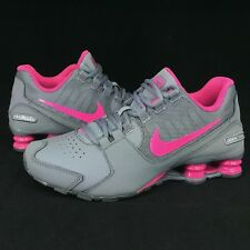 New Nike Shox Avenue Running Shoes GS Youth Sizes 5Y 6Y 7Y Pink Gray 848117-006
