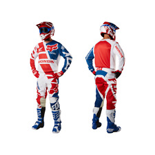 Motocross Suit FOX HONDA 180 2018 Full Set Jersey Pants Combo Racewear Off Road