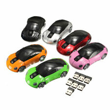1Pcs Car Shaped Optical For Laptop New USB 2.4G 1800DPI Wireless PC Mice Mouse