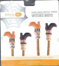 Make N Mold Halloween Candy Pretzel Molds Witches Boots,Hats,Broom, Characters
