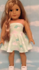 """Dress handmade to fit 18"""" American Girl Doll 18 inch Doll Clothes 7b"""