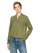 Lucky Brand Women's Lucky You Shirt In Dark Olive