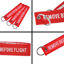 1PCS Suitcase Nag Tag Flight Keychain Luggage Tag Embroidery Key