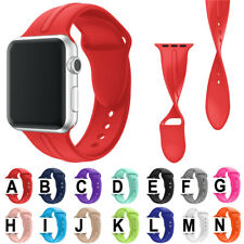 Soft Silicone Band for Apple Watch Series 3/2/1 Sport Rubber Strap Bracelet Belt