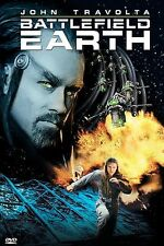 Battlefield Earth (DVD, 2001, Special Edition) WHITE STICKER OVER UPC CODE