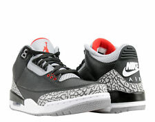 Nike Air Jordan 3 Retro OG Black/Red-Cement Men's Basketball Shoes 854262-001