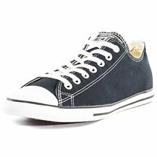 Converse Chuck Taylor All Star Lean Ox Mens Trainers Black White - 3 UK