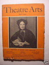 THEATRE ARTS April 1943 GUTHRIE MCCLINTIC HELEN HAYES