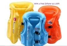 Kids Swim Floatation Vest Safety Water Training Swimsuit Children Bright Colors