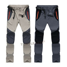 Mens Quick Dry Outdoor Tactical Hiking Camping Climbing Casual Pants Trousers