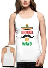 Mexican Fiesta Party Cinco De Mayo Drinko De Mayo Racerback Tank Top Gift Idea