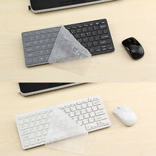 Wireless Keyboard and Wireless Mouse Bundle Optical Slim Silent 2.4GHz Bluetooth