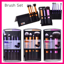 Real Techniques Makeup Brushes Starter Kit Sculpting Powder Blush Foundation Set