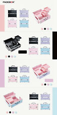 Makeup Box Organizer Cosmetic aluminum Case Storage Jewelry Drawers Holder