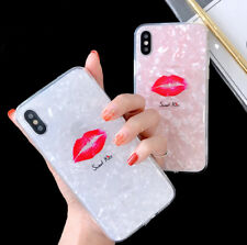 New Sexy Kiss Lip Shell Soft TPU Back Cover Phone case for iphone 6 6s 7 8 plus