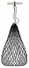 Black Poly Knotted Nylon Rope Slow Feed Hay Net Bag with Draw String