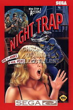 121816 Night Trap Sega CD Decor WALL PRINT POSTER UK