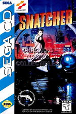 122997 Snatcher Sega CD Decor WALL PRINT POSTER CA