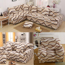 Fashion Life Arm Chair Loveseat Sofa Protector Cover Slipcover 1/2/3/4 Seater