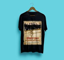 New Steely Dan ft The Doobie Brothers Tour 2018 Black Gildan Size S-2XL