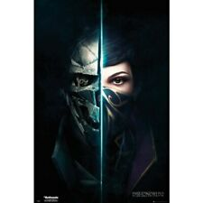 Dishonored 2-Game Cover / Faces-Poster 61cm x 91cm-LAMINATED Available-P5288
