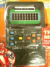 Vintage Mattel Classic Football 2 Electronic Handheld 2002 New In Package