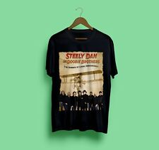 Steely Dan ft The Doobie Brothers Tour 2018 Black Gildan Size S-2XL