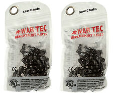 WAR TEC Professional Chainsaw Saw Chain FITS STIHL Chainsaws PACK OF 2