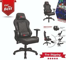 Gaming Chair Computer Chair Video Game Chair Leather Racing Style High-Back