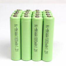 4-16pcs AAA 1.2V 1800mAh Ni-MH rechargeable battery for Solar Light MP3 RC C