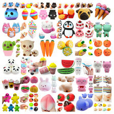 Lot Jumbo Squeeze Slow Rising Squishies Scented Kawaii Squishy Toy Collection HG