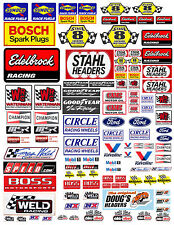 1:18 DECALS FOR DIECAST AND MODEL CARS & DIORAMA  Bosh sunoco