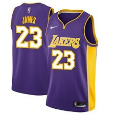 Nike NBA Los Angeles Lakers LeBron James #23 Swingman Statement Edition Jersey