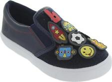 Bibi 956169 Kid's Game Icon Pull On Flat Twin Gusset Nautical Loafers New