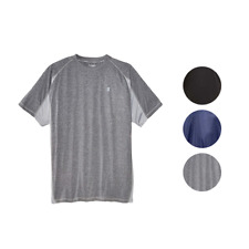 Champion Mens Big and Tall Vapor Performance T-Shirt Pieced With Moister Wicking