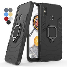 Huawei Mate 20 Lite Pro X Armor Shockproof Hybrid Dual Layer Ring Holder Case
