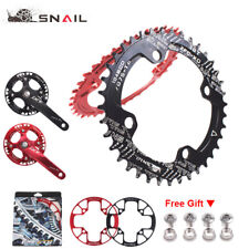 SNAIL 104bcd Chainring 32-42T MTB Bike Narrow Wide Chain ring &Guard Protection