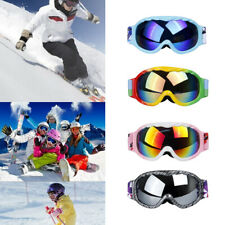 Foam Padded Skiing Goggles Snowboarding Cycling Glasses for Age 8-15 Kids