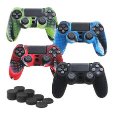 Camouflage Silicone Rubber Skin Grip Cover Case for PlayStation 4 Controller YL