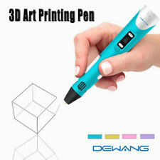 DEWANG 3D Printing Pen 2nd Crafting Doodle Drawing Arts Printer Modeling PLA