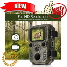 Hunting Camera 12MP 1080P Night Vision Trail Cam Trap Waterproof Video Recorder