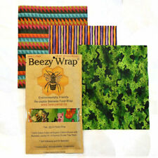 Beezy Wrap® Beeswax Food Wraps | Small 3 Pack | Eco- Friendly | Biodegradable