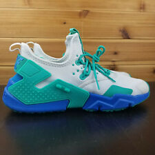 c92e797cd3f68 Nike Air Huarache Drift Men s Shoes White Blue Teal Green AH7334-006