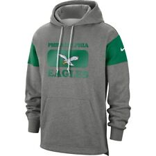 Nike Philadelphia Eagles Sideline Fan Gear Historic Pullover Hoodie Sweatshirt