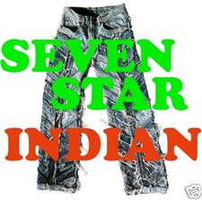 SEVEN STAR INDIAN Materpiece Designer Biker Jeans W/G 28 30 31 32 33 34 36 38 40