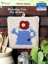 Watering Can Pot Holder ~ Flower Potholder, Crochet Collector's pattern