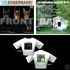 The Beatles Dog Themed T Shirt - Gifts - Doberman