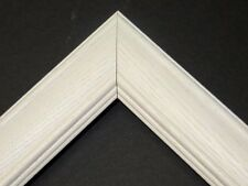 Whitewash Oak Solid Wood Picture Frames-Custom Sizes